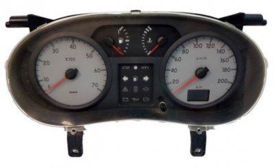 Ремонт табло (километраж) Renault Laguna II