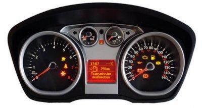 Ремонт табло (километраж) Ford Focus
