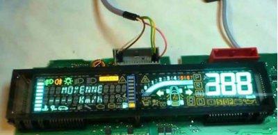 Ремонт на дигитални табла (километраж) за Renault Scenic 2, Espace 4